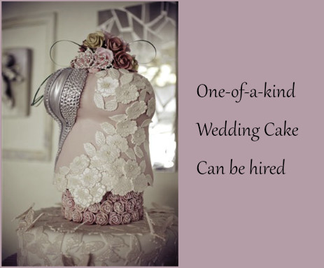 wedding cake for hire